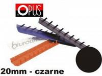 Opinie o Opus Listwy zamykane O.CLICK A4 20mm 180k. czarne OCLICK_20_CZARNE