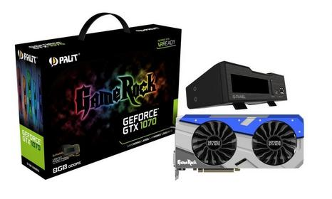 Palit GTX1080 OC GameRock VR Ready