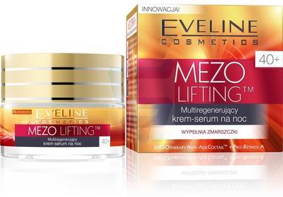 Eveline Mezo-Lifting 40+ Multiregenerujący krem-serum na noc 50ml