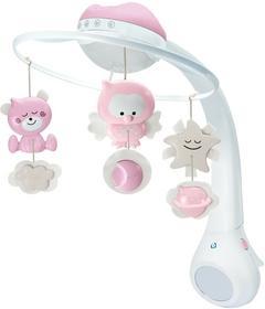B-Kids - 3W1 Projektor Muzyczna Karuzelka (Różowy) - 4914
