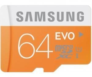 Samsung microSDHC 64GB Class 10 UHS-I