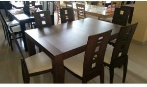 Meble Paged Zestaw CUBA PAGED stół + krzesła