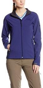 The North Face W Ceresio Jacket damska kurtka typu softshell, niebieski, L