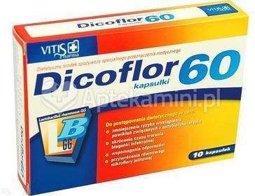 Vitis Pharma Dicoflor 60 10 szt.