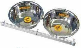 Dingo Zestaw do karmienia przykręcany do kojca 2 x 2,8l