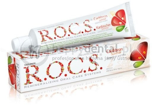 R.O.C.S. ROCS GRAPEFRUIT-MINT 60ml - pasta do zębów wzmacniająca szkliwo o wzmoc