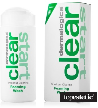 Dermalogica Breakout Clearing Foaming Wash Oczyszczający i odświeżający żel do mycia twarzy dla cer młodych 177 ml