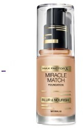 Max Factor Miracle Match Foundation 040 Light Ivory