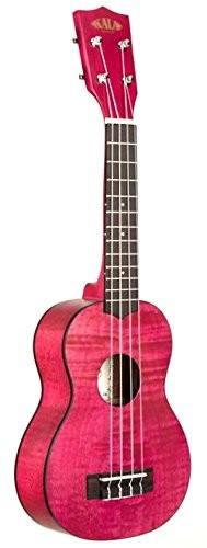 Kala kasemm Ukulele, ze wszystkimi szczegółami mechaniczny, satynowana, kolor: różowy KASEMM