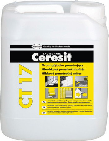 Ceresit Grunt głęboko penetrujący CT17 (10L) ct17/10