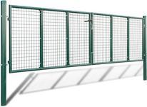 Opinie o vidaxl Ogrodzenie 415 x 150 cm / 400 100