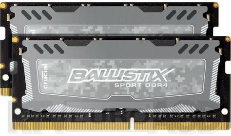 Crucial Pamięć do notebooków DDR4 2x4GB, 2400MHz, CL16 BLS2C4G4S240FSD