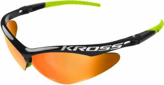 KROSS Okulary DX-SPT czarno-zielone