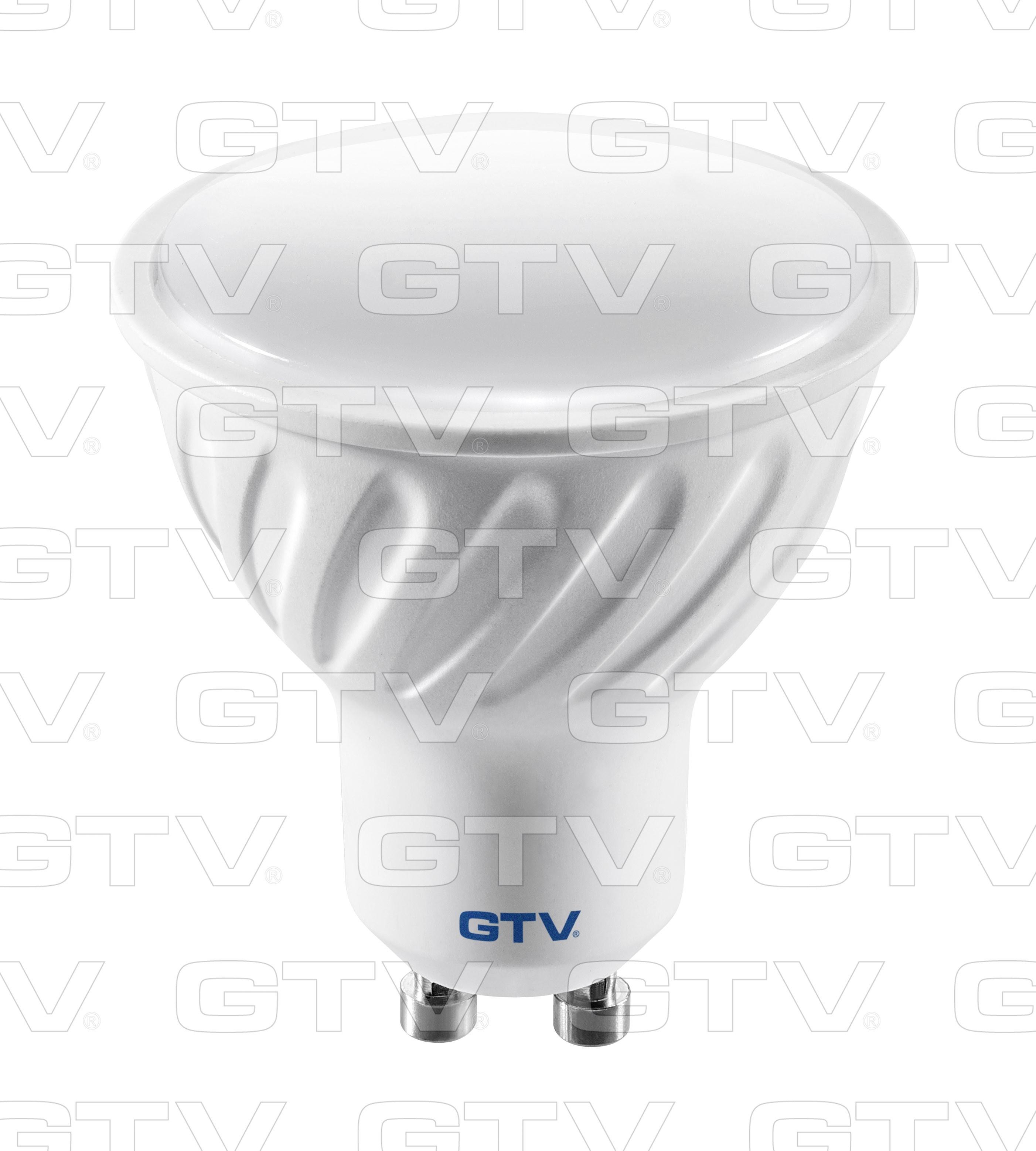 GTV Żarówka LED GU10 6W LD-PC6010-30