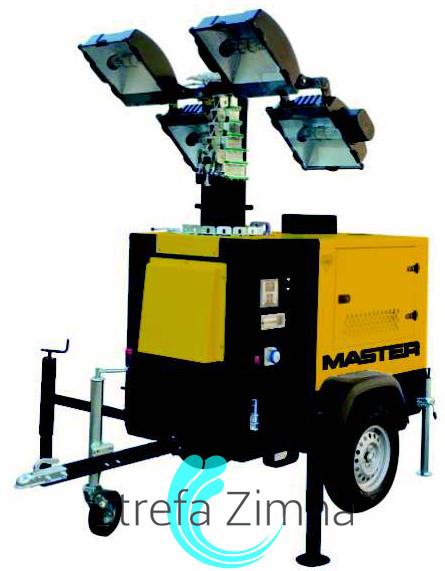 MASTER LED MASZT OśWIETLENIOWY Z AGREGATEM LT30 (METALOHALOGEN) (4000 W), GWARANCJA LT30MH