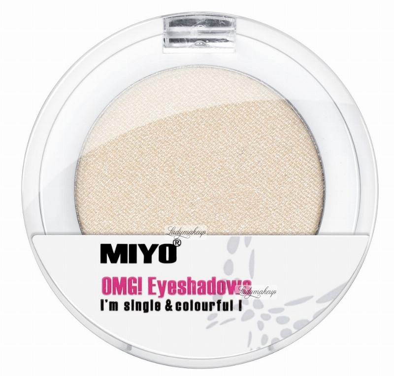 MIYO OMG! Eyeshadows - Cień do powiek - 01 - WHITE M028-01