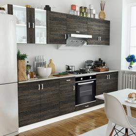 vidaXL Szafki kuchenne 8 sztuk i piekarnik pod zabudowę 6 funkcji klasa A