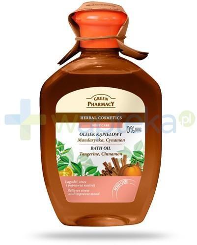 Green Pharmacy PHARM POLSKA Green Pharmacy olejek kąpielowy mandarynka cynamon 250 ml Pharm 7050036