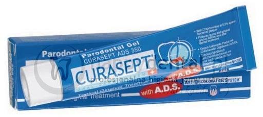 Curaden CURASEPT ADS 350 30ml - żel do miejscowego leczenia dziąseł z chlorheksy
