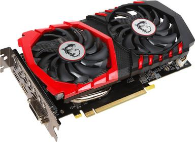MSI GeForce GTX 1050 Gaming X 2G VR Ready