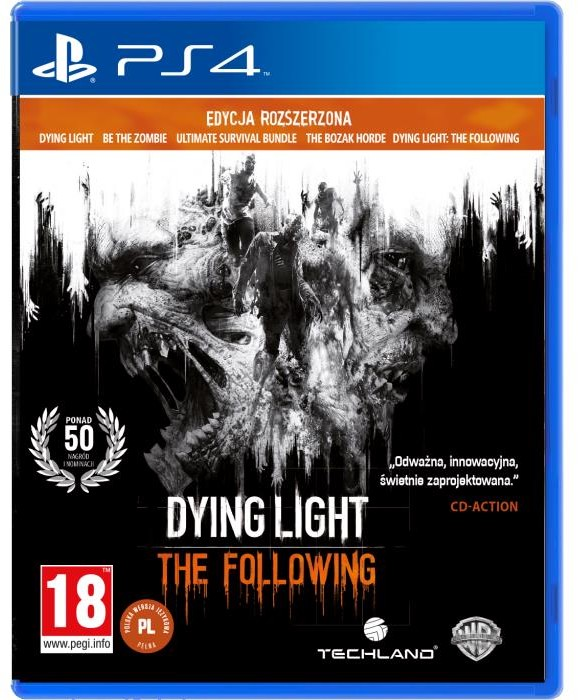 Dying Light: The Following Enchanced Edition (GRA PS4)