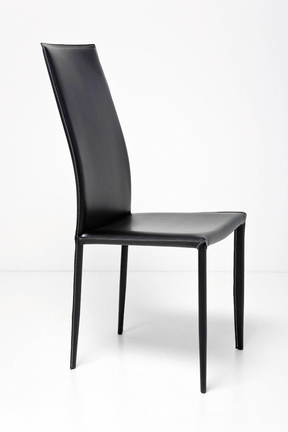 Kare Design Krzes O Sk Ra Milano Wysokie Czarne 76982 Znajd Podobny Produkt