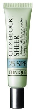 Clinique  City Block Sheer Oil-Free Daily Face Protector SPF 25 40ml