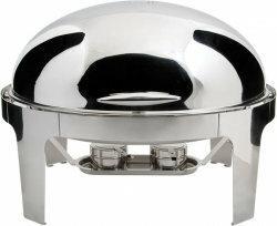 Stalgast Podgrzewacz roll top owalny / H: 450 mm / D: 520 mm / W: 630 mm / V: 9,
