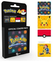 Paladone Podstawki pod kubek Pokemon kpl 4szt GYE-CSP0021