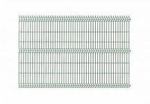 Opinie o Polbram panel ogrodzeniowy 3D zielony ocynkowany 123x250 cm, oczko 50x200 mm, śr