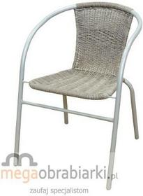 MASTER GRILL&PARTY Krzesło balkonowe z oparciem plecionym, JLC307