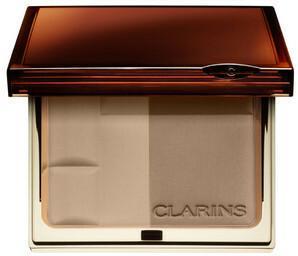 Clarins Bronzer brązujący Duo SPF 15 01 light female 10g