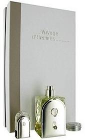 Hermes Voyage d´ Zestaw podarunkowy woda toaletowa 100ml + balsam 10ml +