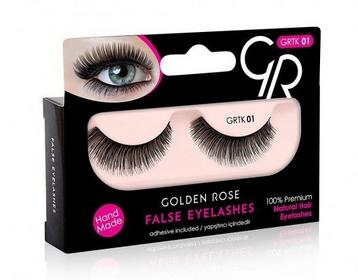 Golden Rose False Eyelashes sztuczne rzęsy w Paskach 01