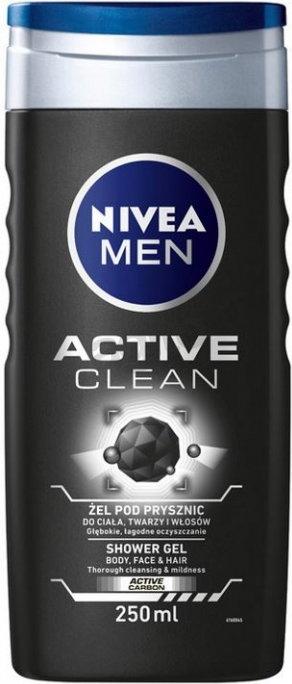 Nivea Men Active Clean Żel pod prysznic 250ml