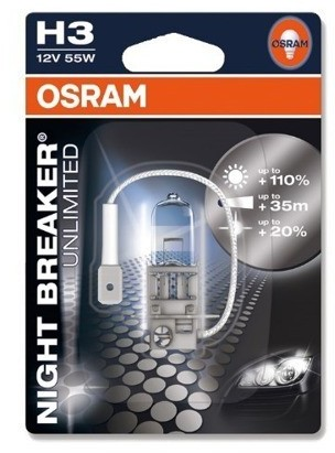 OSRAM H3 Night Breaker Unlimited