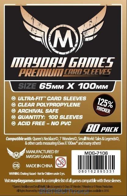 Mayday Games Koszulki Magnum Cooper 65x100 (80szt) MAYDAY