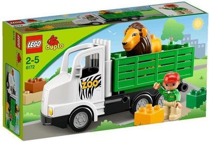 LEGO Duplo Ciężarówka ZOO 6172