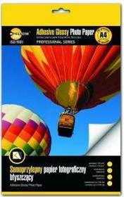 YellowOne Papier fotograficzny YELLOW ONE A4 130 g/m2 SAMOPRZYLEPNY BŁYSZCZĄCY
