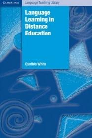 Cynthia White Michael Swan Language Learning in Distance Education