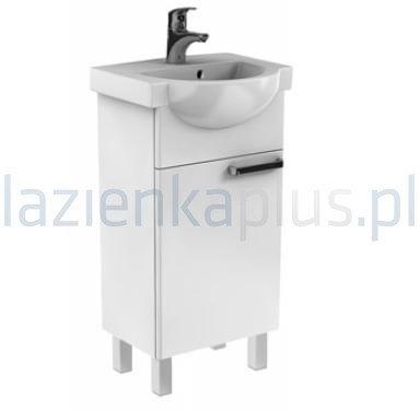 Koło Zestaw meblowy 45 cm umywalka z szafką biały połysk Freja L79003000