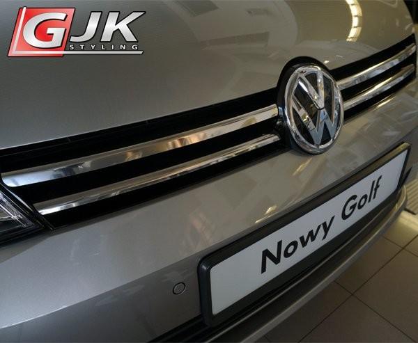 Opinie o CRONI VW GOLF VII od 2012 Nakładki na grill stal połysk VW04G