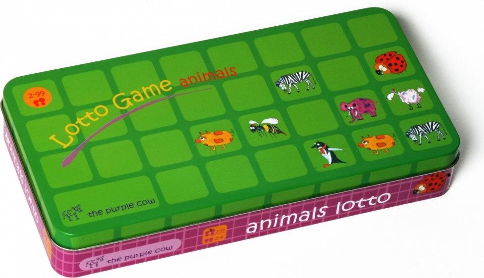The Purple Cow Lotto zwierzątka