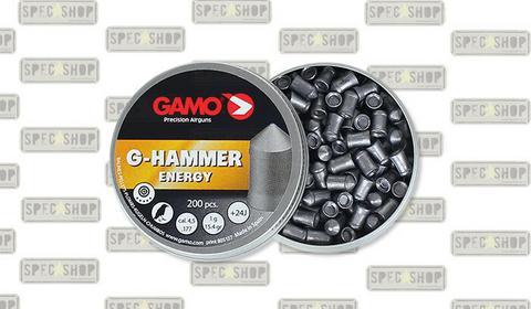 Gamo Śrut G-Hammer Energy - 200 szt. - 4,5 mm - 6322822