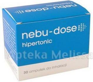 Solinea NEBU-DOSE Roztwór hipertoniczny do inhalacji - 30 amp. 9070439