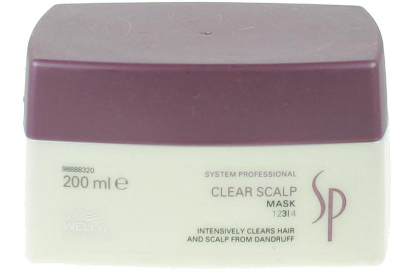 Wella SP Clear Scalp maska przeciwłupieżowa 200ml