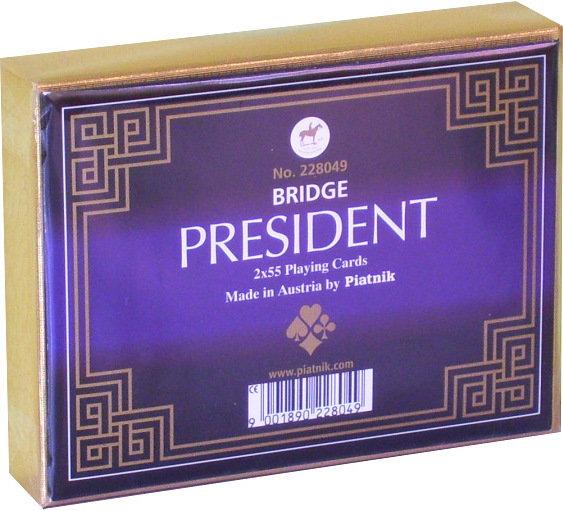 Piatnik Karty International President 2280