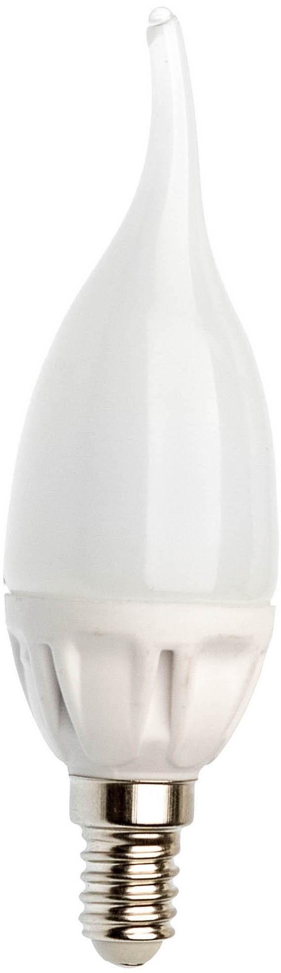 Spectrum Żarówka LED świecowa DECO E14 4W SMD CW zimna płomyk WOJ13047
