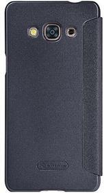 Nillkin Sparkle Schutzhülle aus Leder für Samsung Galaxy J3 Pro J3110 - Schwarz