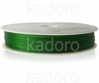 Linka jubilerska 0.38 mm zielona - 1 m